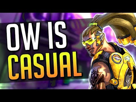a video with overwatch gameplay and discussion all in one how convenient