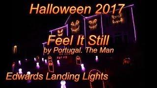 download lagu Halloween Light Show 2017 - Feel It Still By gratis