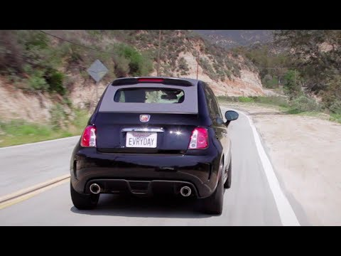 Fiat 500 Abarth Sights & Sounds - Beauty. Exhaust. Fly-by