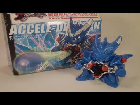 Cross Fight B-Daman Review - CB-01 ACCELE=DRACYAN