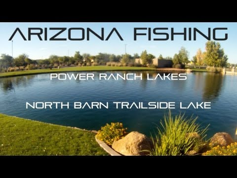 Arizona Fishing Power Ranch Lake