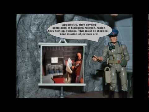 GI JOE DIORAMA STORY : COBRA ATTACKS EPISODE V : WHEN THE PLAN COMES TOGETHER...