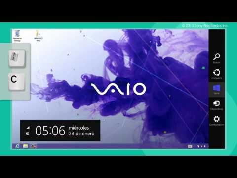 Como configurar el Wi-Fi en un Sony VAIO® utilizando el Touchscreen y el Teclado
