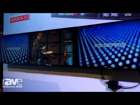 InfoComm 2015: Roland Exhibits XS-Series Multi-Format Matrix Switcher 2.0