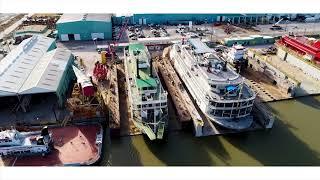 Bollinger Shipyards - USCG Foreign Military.flv