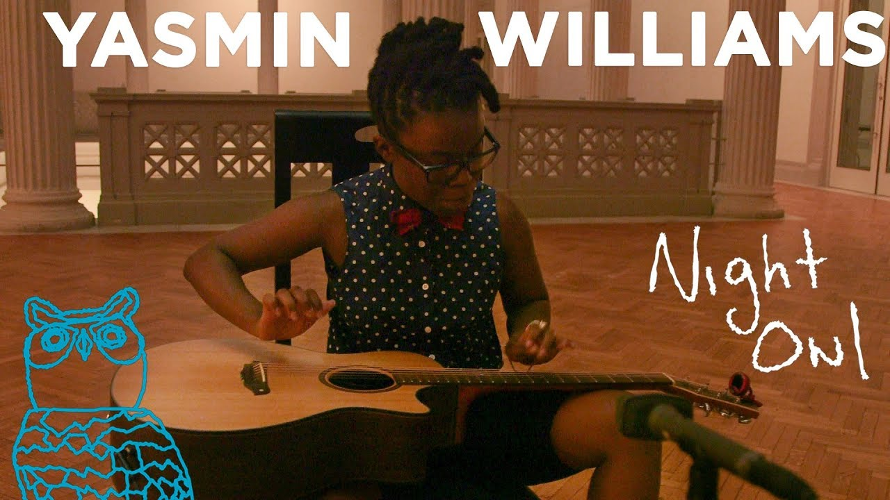 "Yasmin Williams - NPR Music「Night Owl」にて""Restless Heart""を披露 ギター演奏映像を公開 thm Music info Clip"