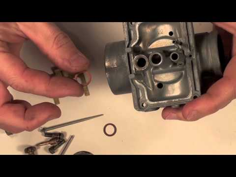 Mikuni Carb Series # 3  assembly video with details.