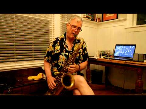 """The Martin"" Tenor saxophone  Demo"