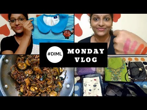 #DIML Monday Vlog || Going to Hyderabad || Baby girl frocks