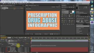 Create video infographic after effects