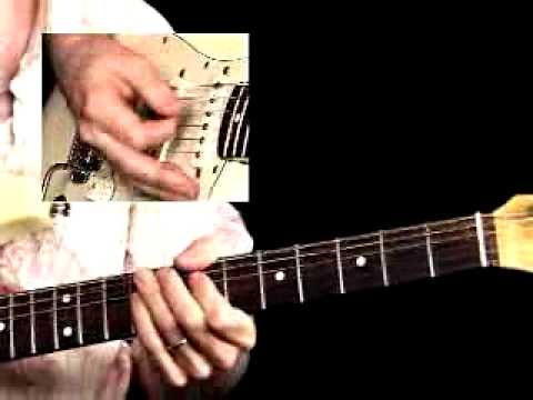 Blues Rock Guitar Lessons - Evolution - Jeff McErlain - Twister Rhythm 1