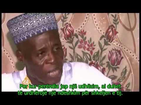 Imami  (hoxha) 84 vjeçar ka 86 gra. Thotë, mi pruri Allahu!.avi
