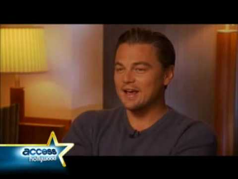 "Leonardo DiCaprio Talks About ""The Jersey Shore"""