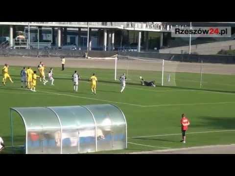 Derby Rzeszowa na remis. Resovia - Stal 1:1 (FILM)