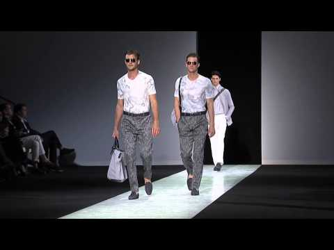Giorgio Armani - 2014 Spring Summer - Menswear Collection