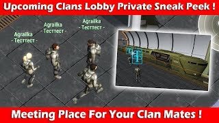 """Upcoming """"Clans Lobby"""" Private Sneak Peek! Last Day On Earth Survival"""