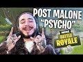 POST MALONE - Psycho (Fortnite Parody Video - Servers Going Psycho)