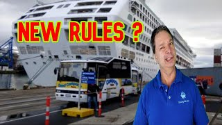 New Cruise Ship Rules When In Port - Cruise Ship News