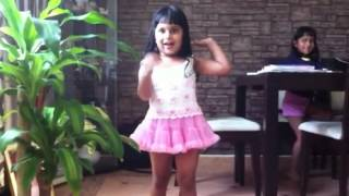 Arushi singing pit pit patter of the raindrops