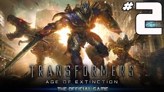 Transformers: Age of Extinction Video Game - PART 2 - Rusty Optimus Prime (iOS & Android)