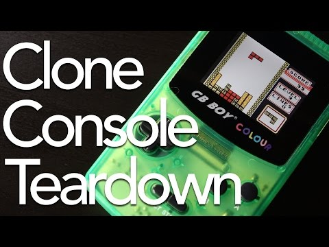What's Inside a Clone Game Boy? | GB Boy Colour Teardown