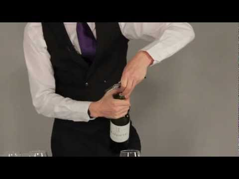 Opening and Pouring Wine