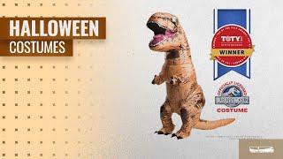 Rubie's Men Halloween Costumes [2018]: Rubie's Adult Jurassic World T-Rex Inflatable Costume