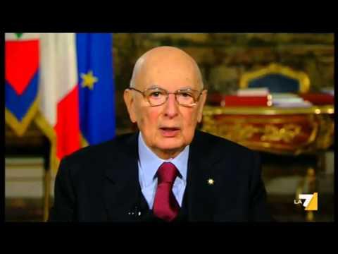 Il discorso di fine anno del presidente della repubblica Giorgio Napolitano 31/12/2014