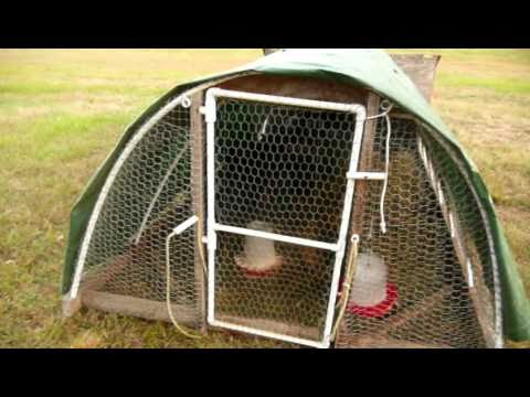 How I Built Our Chicken Tractor