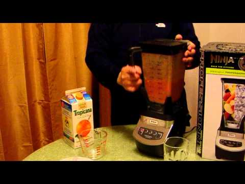 Ninja 1000 Professional Blender by Euro-Pro - Strawberry-orange-banana smoothie