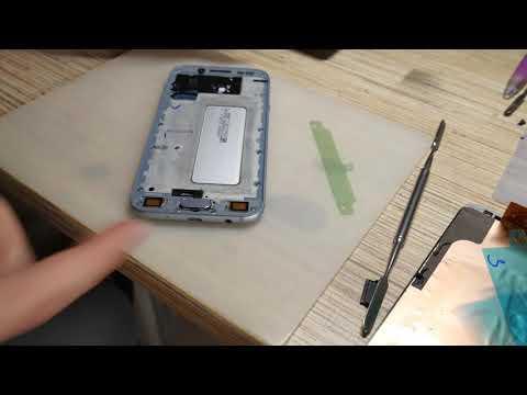 Samsung J530. Замена дисплея. Разборка, сборка и установка.