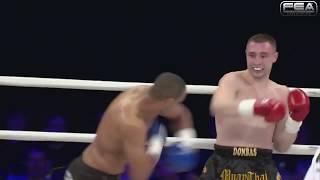 KOK WGP 2014 QUATERFINAL  FIGHT Lyapin Igor VS Ibrahim Elbouni