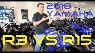 Shop Talk: 2018 Yamaha R3 vs. R15