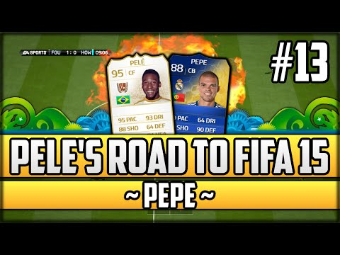 FIFA 14 Next Gen - Pelé's Road to Fifa 15 - #13 - Pepe