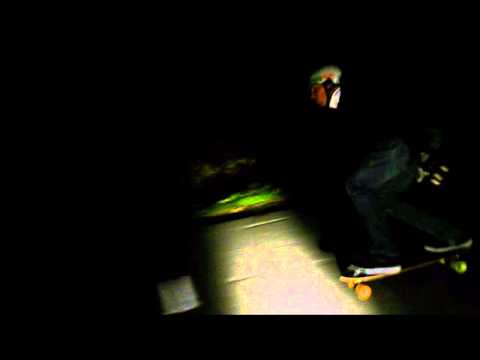 Skating in the night