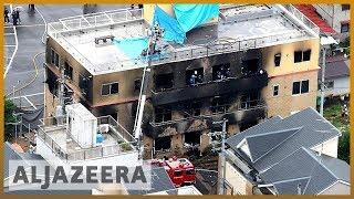33 killed in arson attack at Japan anime studio