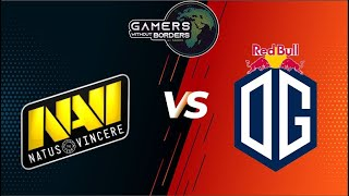 🛑[Dota 2 LIVE] Navi vs OG (Bo3)Gamers Without Borders 2020 English Caster