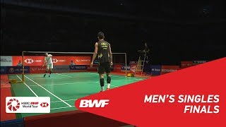 F   MS   CHEN Long (CHN) [3] vs SON Wan Ho (KOR) [4]   BWF 2019