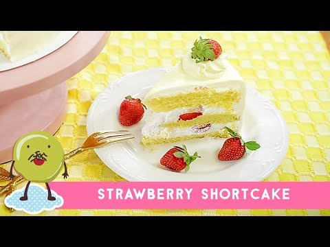 Resep Strawberry Shortcake