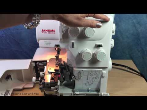 Simple Serging 101:  Threading Fundamentals by Pocono Sew and Vac