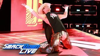 Dolph Ziggler mocks HBK's entrance and other Legends: SmackDown LIVE, Sept. 19, 2017