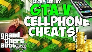 GTA 5 Cell Phone Cheat Codes (Cheats In Description)