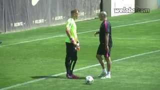 Ter Stegen training before Champions League final | weloba.com