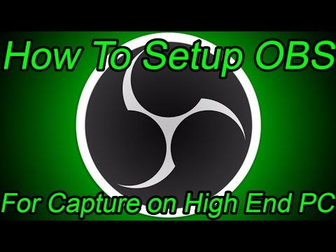 How To Setup OBS for Capture and Streaming   OBS Multiplatform Tutorial
