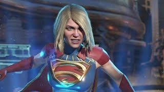 Injustice 2 : Superman Vs Supergirl - All Intro/Outros, Clash Dialogues, Super Moves