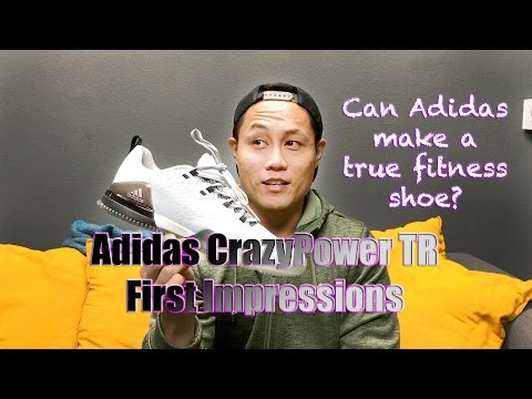 Adidas CrazyPower TR First Impressions! Adidas Functional Fitness Shoe!