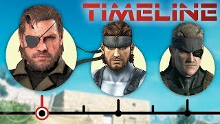 The Complete Metal Gear Timeline - Definitive Edition Ft. David Hayter   The Leaderboard