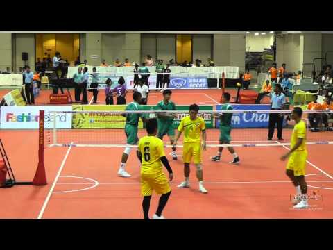 Sepak Takraw Prince Cup 2014 - Day 3 Highlights video