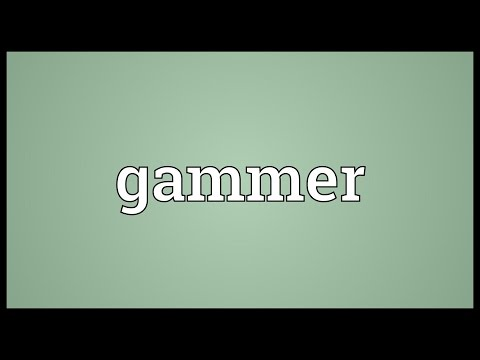 Header of gammer