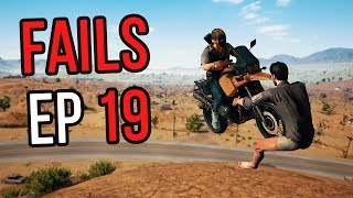 PUBG: Fails & Unlucky Moments Ep. 19